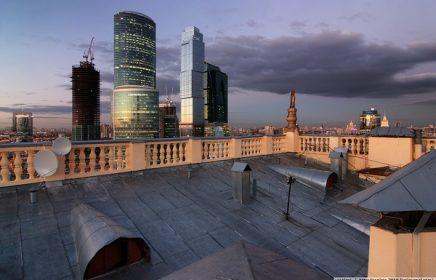 Открытые крыши Москвы