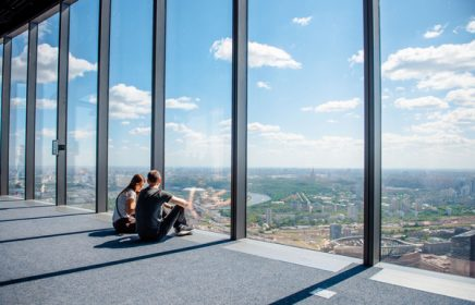 Смотровая площадка «PANORAMA360» в Москва-Сити