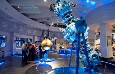 Онлайн-экскурсия по музею Урании Московского планетария