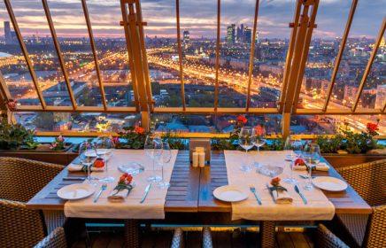 Рестораны на крышах в Москве