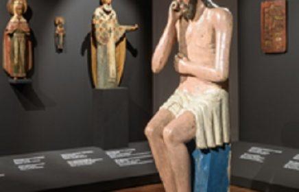 Экспозиция «Древнерусская деревянная скульптура» в Музее им. А. Рублева
