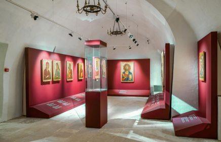 Экспозиция «Древнерусская иконопись XIII–XVI веков и памятники декоративно-прикладного искусства»