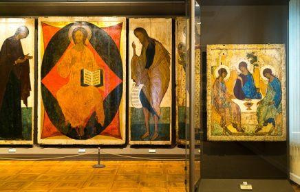Постоянная экспозиция «Шедевры русского искусства XI — начала XX века» в Третьяковской галерее