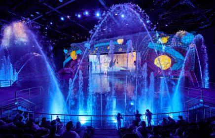 Мультипликационное «Шоу Воды» в Москвариуме