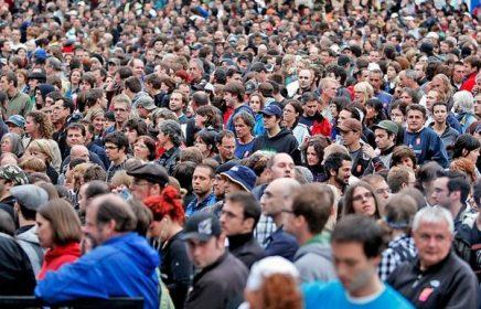 Сколько в Москве проживает людей