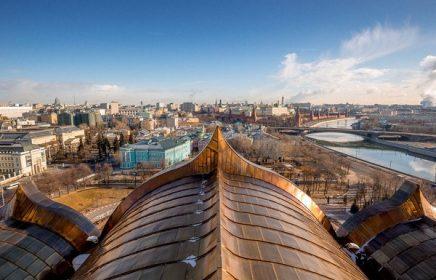 Самые популярные смотровые площадки в Москве