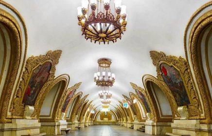 15 самых красивых и запоминающихся станций московского метро