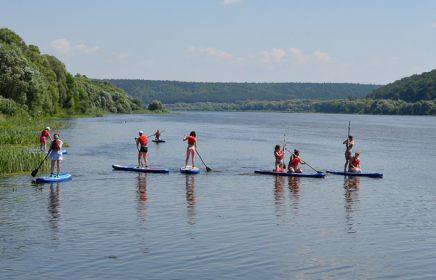 Клуб Саптапыч — активный отдых на воде, sup-серфинг на Оке
