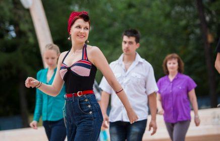 Бесплатные танцевальные мастер-классы на ВДНХ