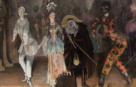 Выставка «Арлекины Серебряного века»