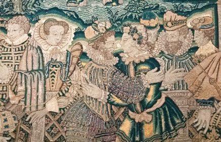Выставка «Тканое великолепие. Шпалеры XVI-XVII веков»