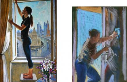 Онлайн-выставка «Художник и изоляция»