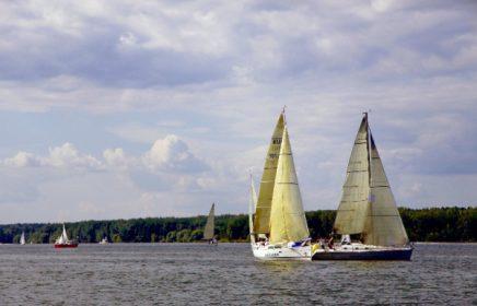 Яхт-клуб на Пироговском водохранилище