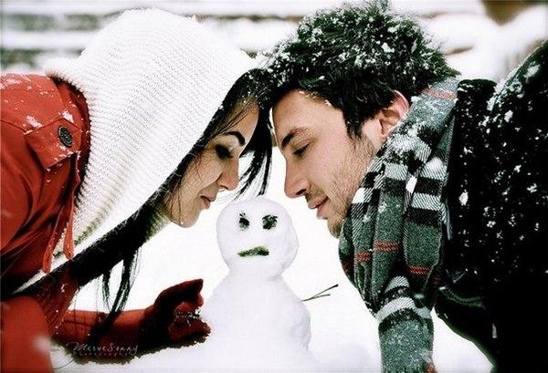 Зимняя фотосессия, как вариант подарка девушке на Новый год